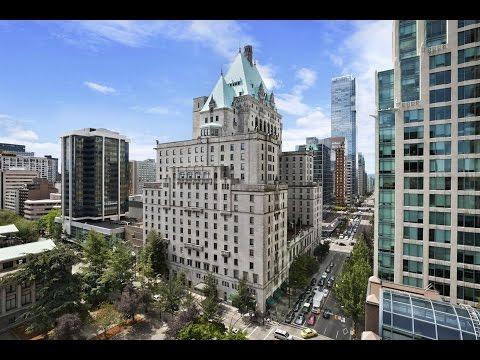 Fairmont Hotel Vancouver Video Tour