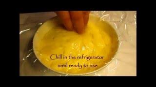 VANILLA CREAM Custard Filling - Easy Recipe