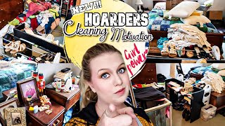 HOARDER!!! HOW TO CLEAN DECLUTTER AND ORGANIZE YOUR ROOM! CLEANING MOTIVATION! LIVING WITH CAMBRIEA