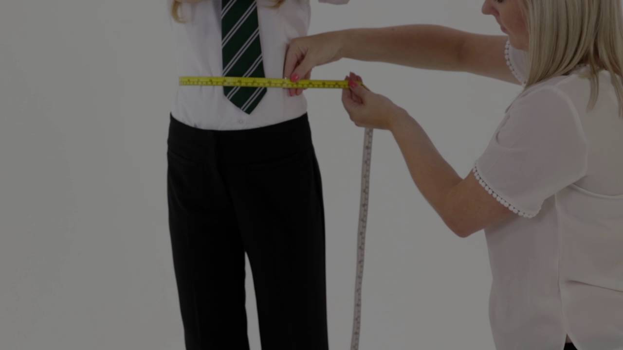 How to measure your child for Girls School Trousers