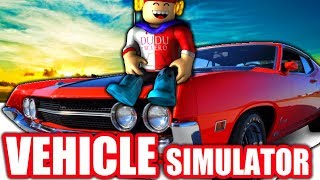 ROBLOX - Meu Carro novo no VEHICLE SIMULATOR
