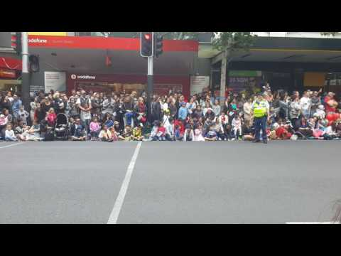 Farmers Santa Parade 2016, Auckland, Nz-Witcoulls Storytime Display