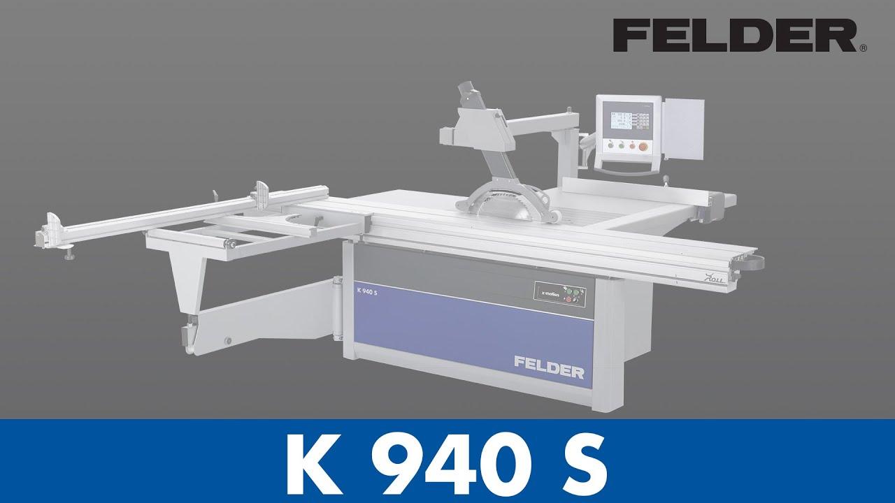 Felder 174 Sliding Table Saw Benefits Youtube