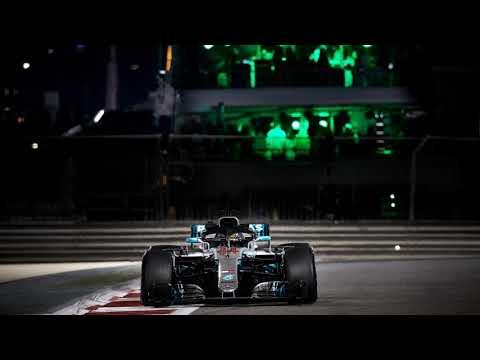 Lewis Hamilton celebrates win and championships - F1 2018 Abu Dhabi