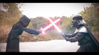 KYLO REN VS. DARTH VADER IN REAL LIFE!!!! ( A star wars fan-film )