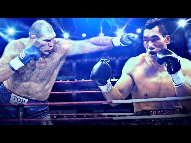 Top 10 TITAN GIANTS In Boxing