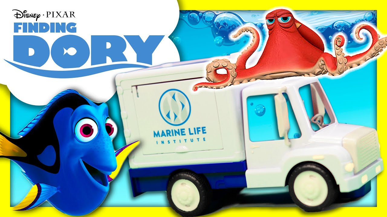 FINDING DORY Finding Dory s Aquarium Truck Adventure to the Ocean
