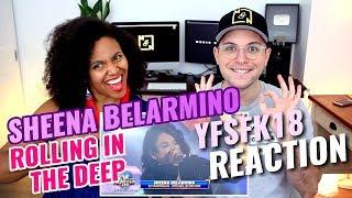 Sheena Belarmino - Rolling In The Deep   KZ Tandingan   Your Face Sounds Familiar Kids 18   REACTION