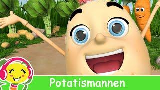 Potatismannen Barnsång 🥔 Bebis Sånger   BarnmusikTV