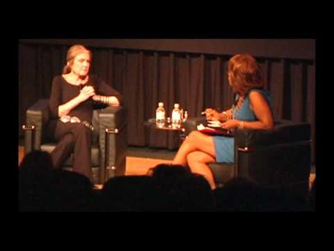 Gloria Steinem with CBS's Gayle King, Live at The Common Good