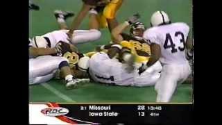 LaVar Arrington Penn State Highlights - 1998 Part 1/2 (LaVar Leap)