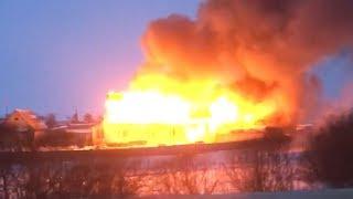 Пожар в Червишево