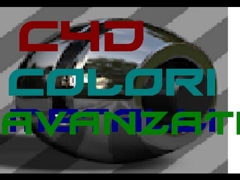 Cinema 4D tutorial: come creare colori avanzati | metallizzati | bellissimi!