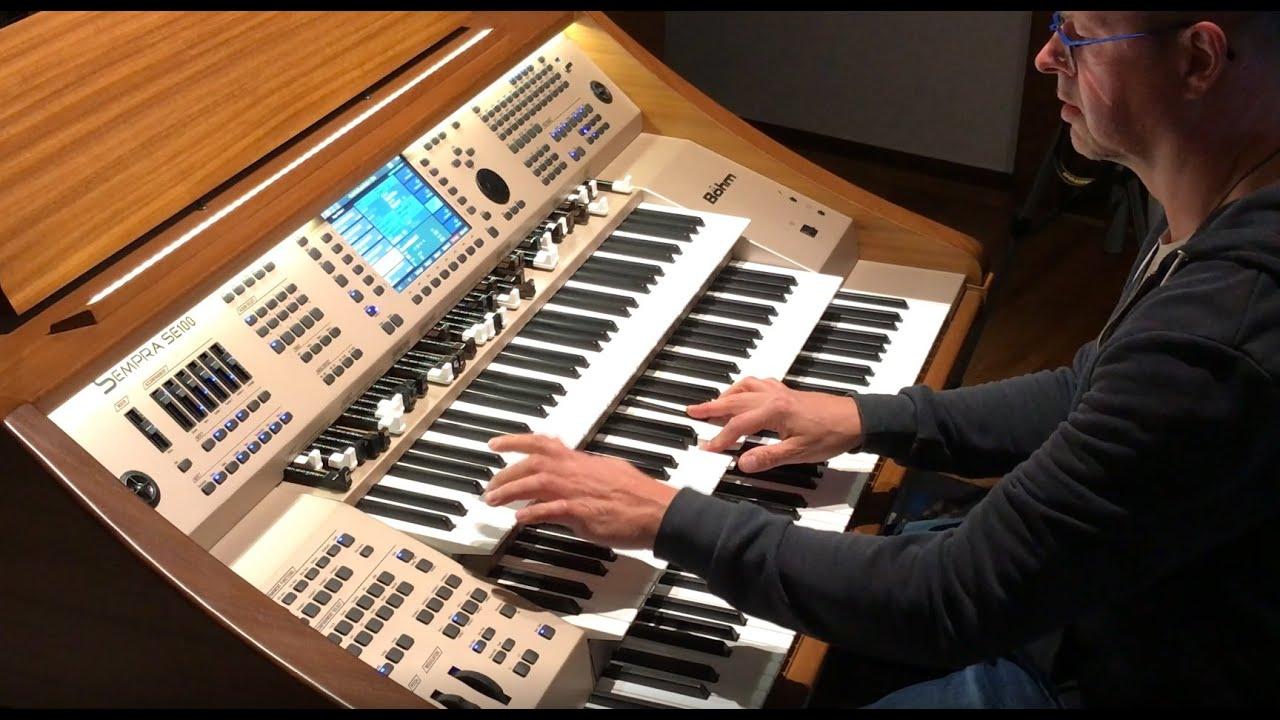 You've lost that lovin' feeling  - Pop Organ version - Claus Riepe on Böhm SEMPRA SE100