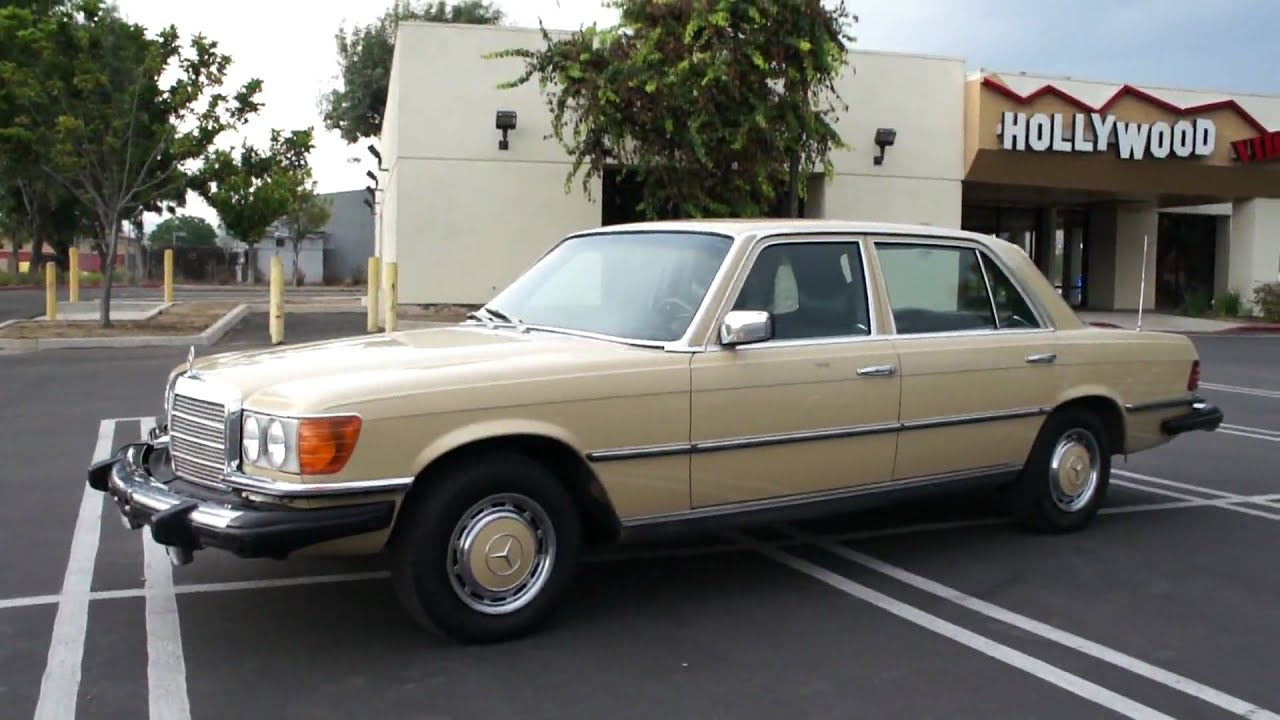 1976 Merceds Benz 450sel 2 Owner Mint For Sale 3300 W116