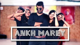 Aankh Marey Dance Steps | SIMMBA | Aankh Marey Easy Dance Choreography | DANCE with ROHAN