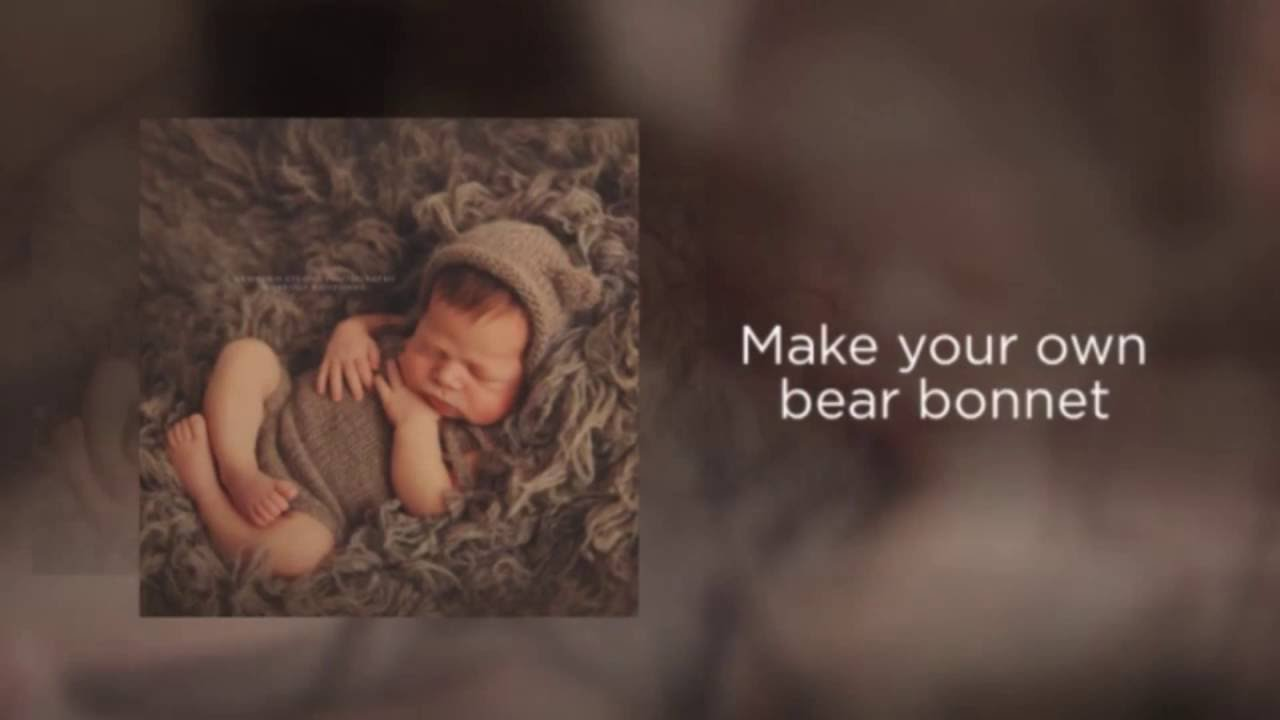 Newborn Photo Props Knitting Patterns   Simple Baby Hat Knitting ...