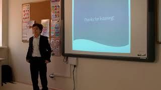 Презентация о Математике на английском. Международная школа Астаны.