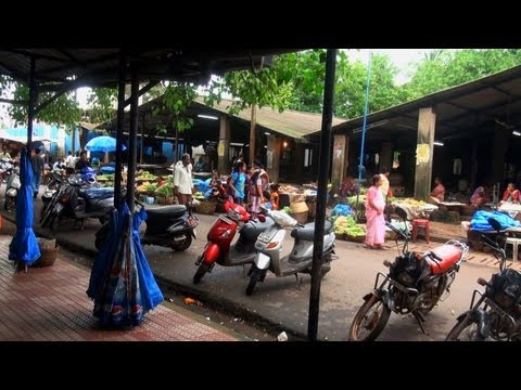 Kadamba bus terminus and market, Goa