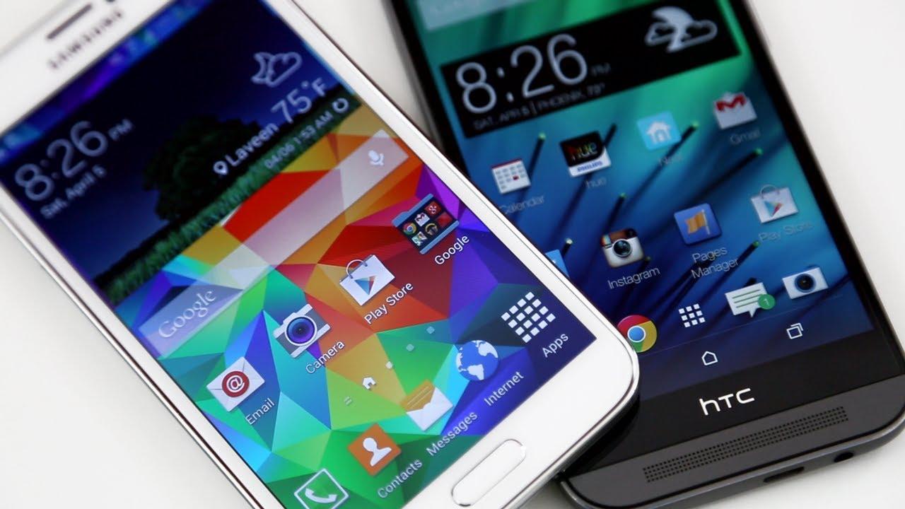 Samsung Galaxy S5 vs HTC One (M8): Complete Comparison ...Htc One Max Vs Galaxy S5