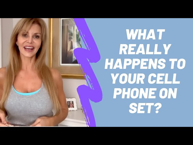 Acting Tips: Cell Phone Security on Set
