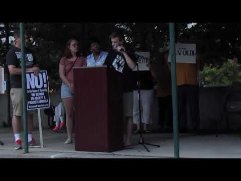 Socialist recounts experience of Charlottesville terror attack
