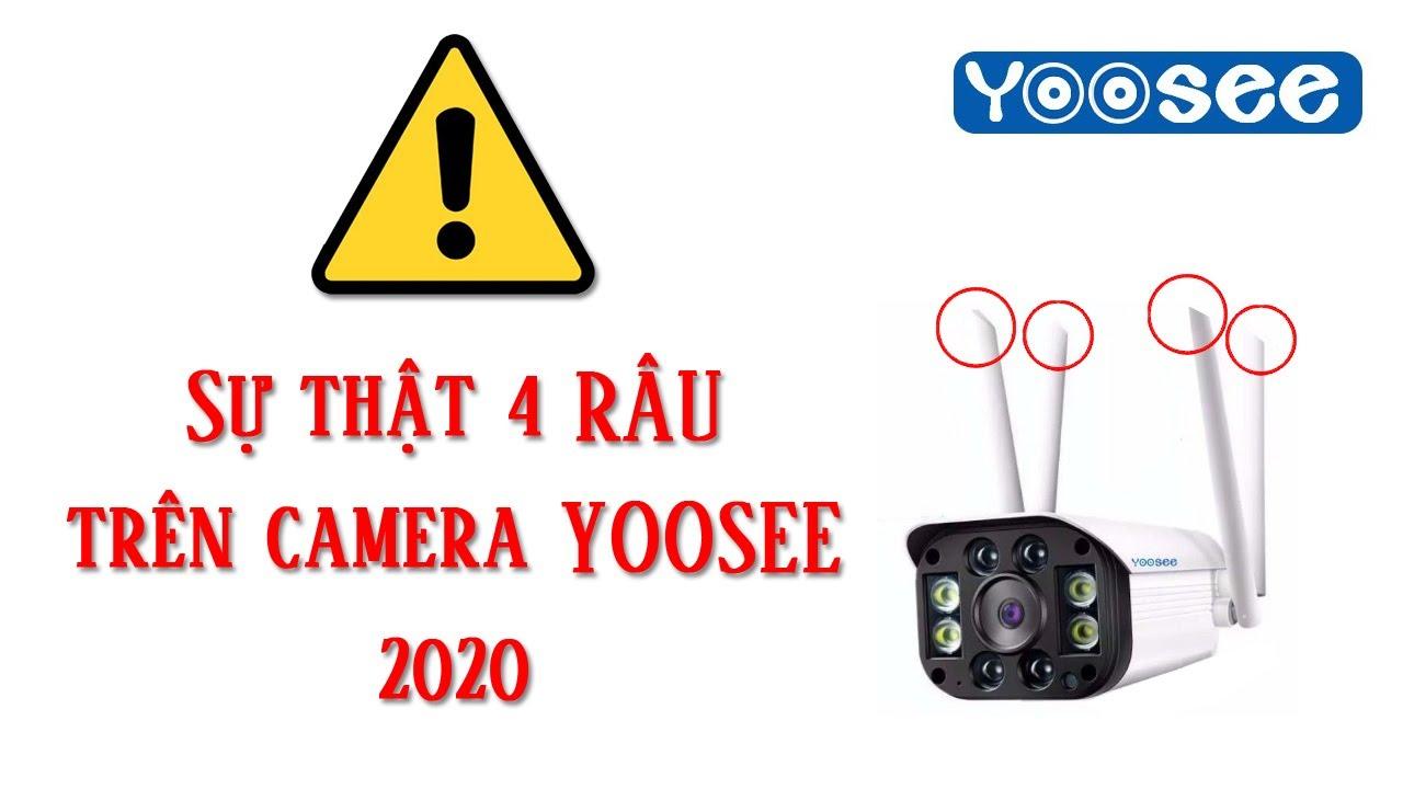 Camera Yoosee 4 Râu có thật ???