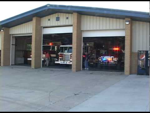 Dwight,IL Fire Protection District Working Fire Response-Station Responding