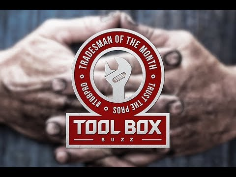 Tool Box Buzz - Tradesman of the Month Giveaway #TBBPRO