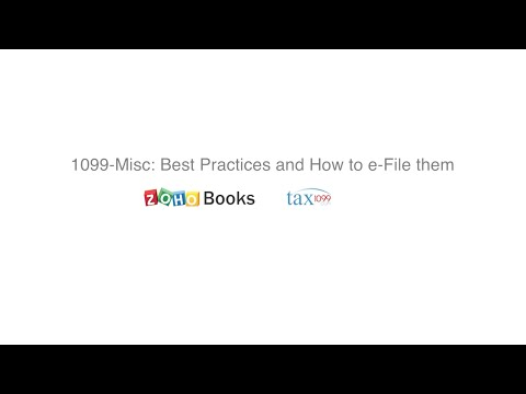 1099-Misc: Best Practices And How To E-File Them