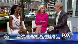 Deshauna Barber, Miss USA 2016 on Fox and Friends