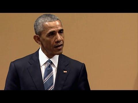 Barack Obama's speech in Cuba
