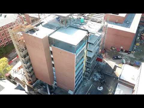Drone footage: Crosland Tower