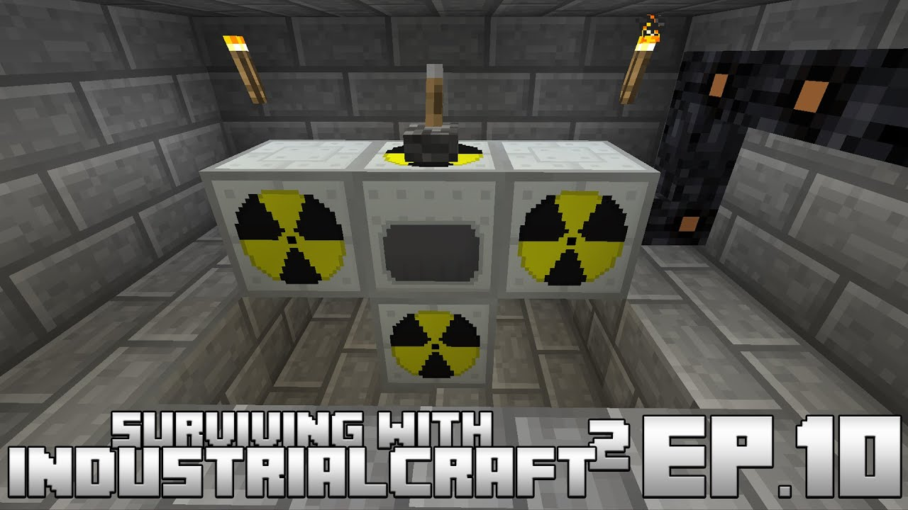Surviving With IndustrialCraft 2 :: Ep.10 - Simple Nuclear ...