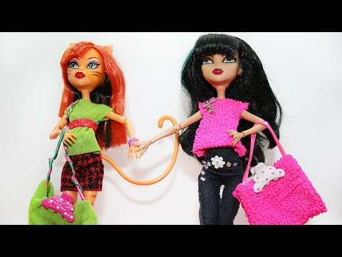 видео: Как сшить сумку для кукол: Как сделать сумку для кукол. how to make bag for dolls.