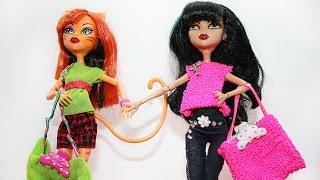 Как сшить сумку для кукол: Как сделать сумку для кукол. How to make bag for dolls.
