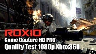 ROXIO Game Capture HD PRO - Quality Test MW3 1080p Xbox360