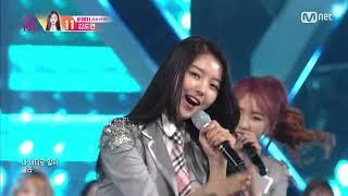 M-net 엠넷/레이저/ 'PICK ME' 11회 다시 모인 101소녀들의 오프닝 세리모니! …