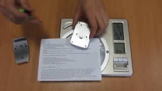 Метеостанция цифровая термометр гигрометр с беспроводным выносным датчиком