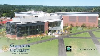 Worcester State University Wellness Center Construction Time-Lapse
