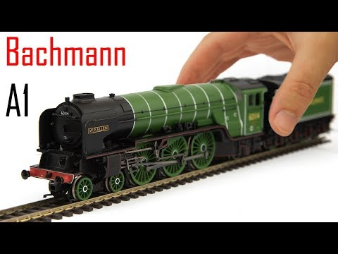 Unboxing the Bachmann Peppercorn A1