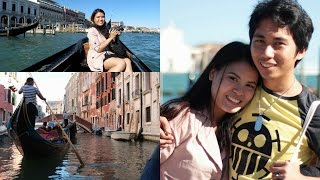 Ride a gondola with us in Venice | LifewithAbbyAndRJ