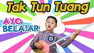 "Gambar cover Ayo Belajar ""Tak Tun Tuang"" cover by Uyyus - tak tun tuang anak anak Official Music Video"