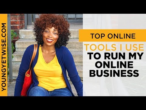 Top Tools I use to run my online business