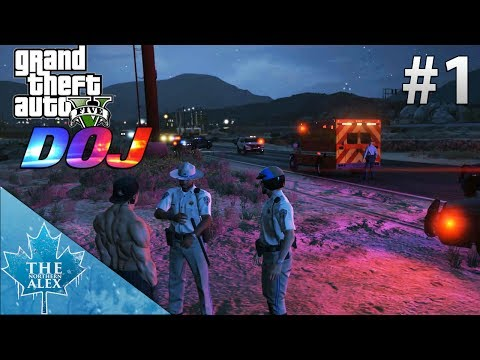 GTA V  Department of Justice #1 -Rule One- LEO