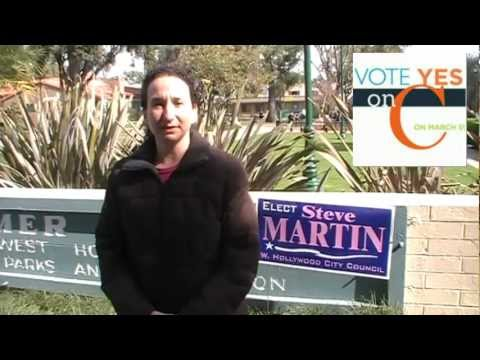 """Sofiya Turin - West Hollywood resident speaks to the Russian Community on Measure """"C"""""""