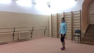 Передача : Шаги к Успеху ))) прыжки ...Rhythmic Gymnastics Training