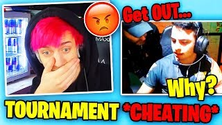 Ninja Reacts To PRO PLAYER Caught *CHEATING* In TOURNAMENT (NEW BUG) | Fortnite Battle Royale
