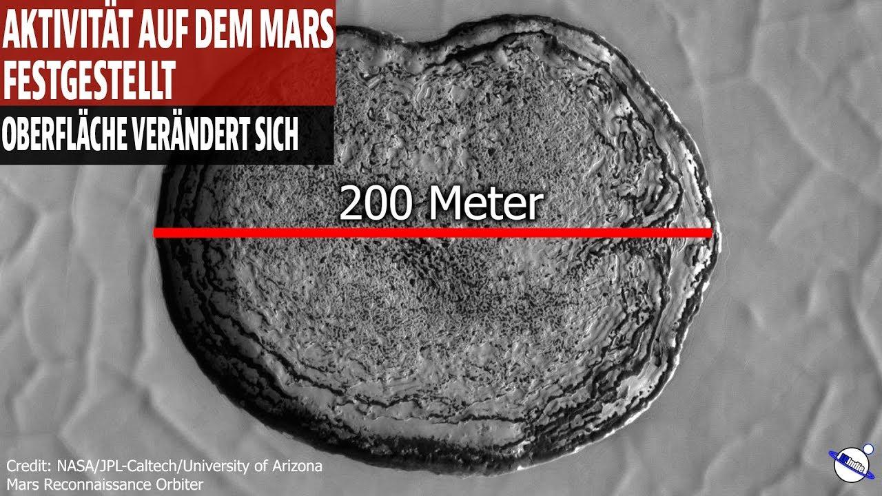 Aktivität auf dem Mars festgestellt - Oberfläche verändert sich