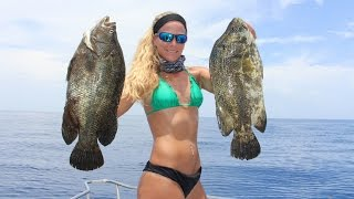 Florida Offshore Fishing for Mahi & Big Tripletails Video.